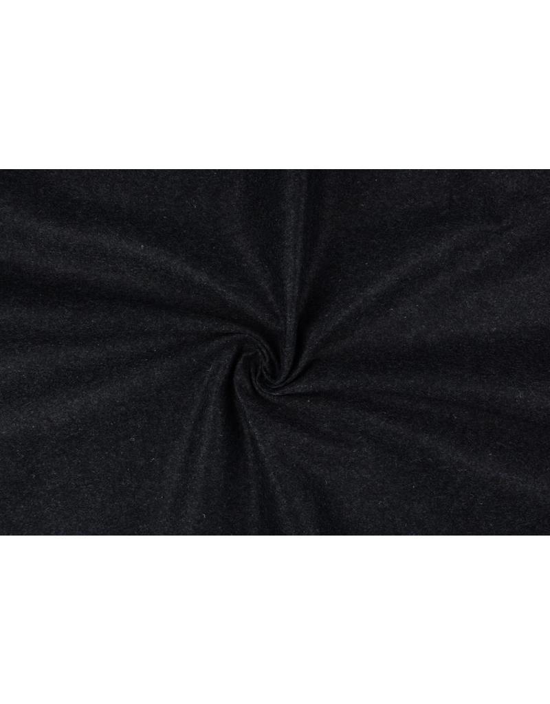 Koreaans vilt 1 mm Donker grijs melange