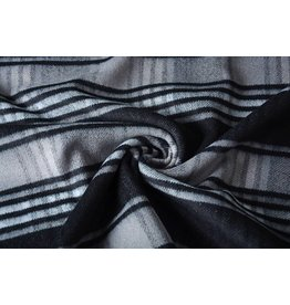 Woolen fabric Black-Grey