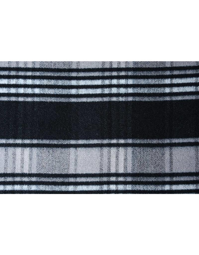 Woolen fabric Black-Grey