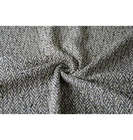 Woolen fabric Herringbone structure