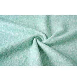 Woolen fabric Mint Green
