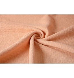 Woolen fabric Peach Lurex