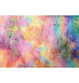 Zottelplüsch Multicolor