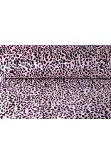 Harige Imitatie Bont Cheetah print Roze