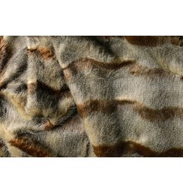 Melange Imitation Fur Brown