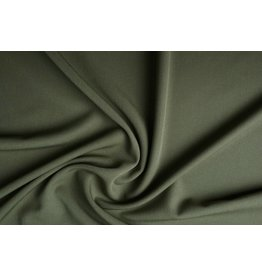 Stretch Gabardine Kaki green