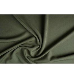 Stretch Gabardine Kaki groen