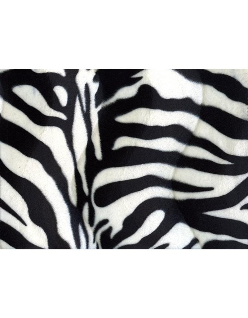 Velboa zebraprint Large