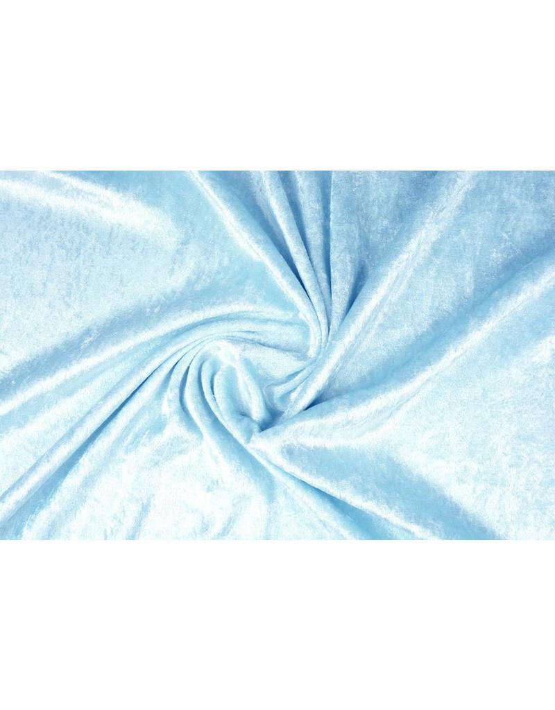 Velours de Panne Baby Blue