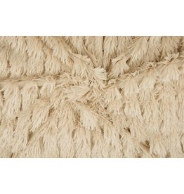 Hairy fur line Beige