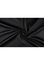 Jersey Lak Gestanst mat Mat zwart 1