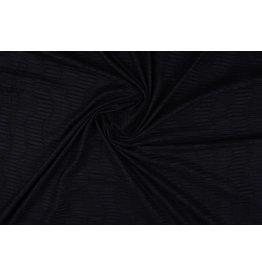 Suede plissé Zwart