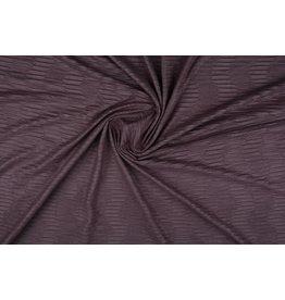 Suede plissé Oud lila