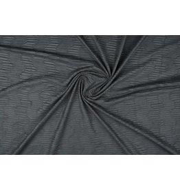 Suede plissé Dark grey
