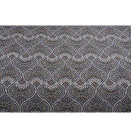 Jacquard Woven Fabric Taupe