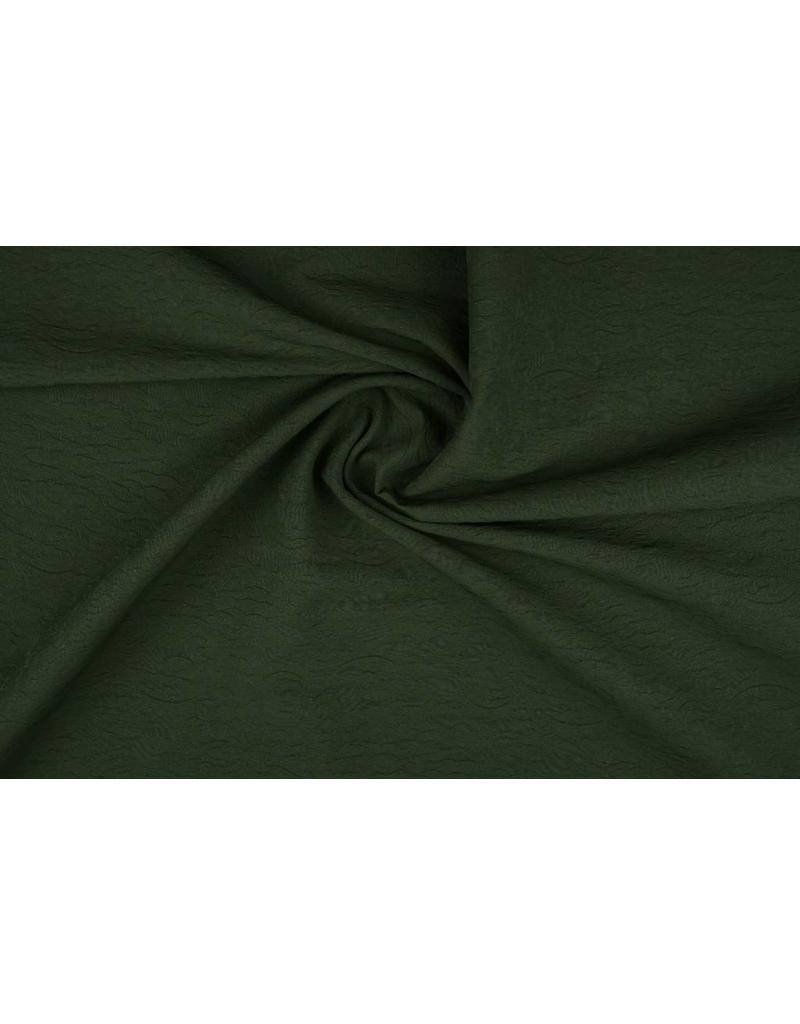 Jacquard Donker groen