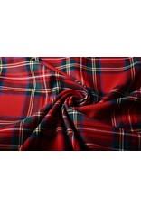 Schottenkaro Mittel Stretch Röt