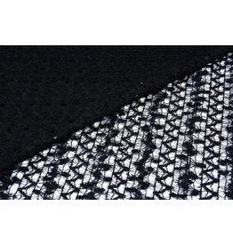 Lace sequins Black