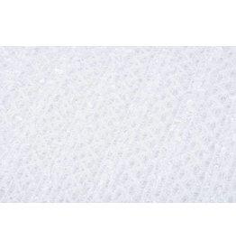 Spitze Pailletten Weiß