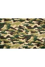 Armee Polyester Baumwolle Grün Braun