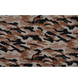 Army Polyester Cotton Brown