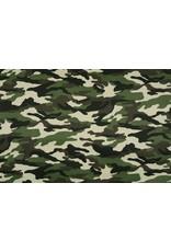 Army Polyester Katoen Donker groen-donker bruin