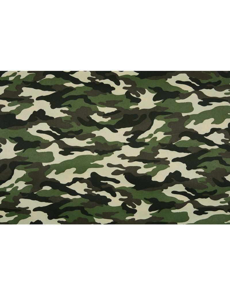 Armee Polyester Baumwolle Dunkelgrün-Dunkelbraun