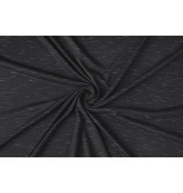 Viscose Slub Melange Dark Grey