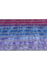 Jersey Viskose Kleine Streifen Multicolor 2