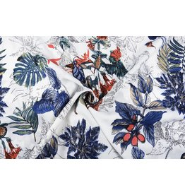 Linenlook Viscose Printed Tropical