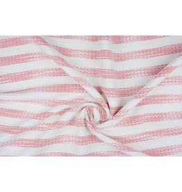 Bouclé chenille Pink