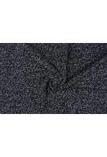 Fancy Bouclé Grijs-zwart