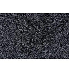 Fancy Bouclé Grey-black