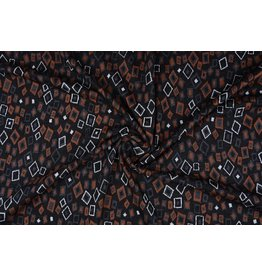 Jacquard knitted Omni Brown