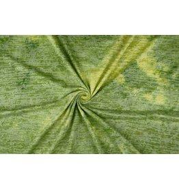 Jersey Tie-Dye Waldo Puder Limettengrün