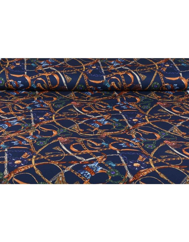 Ketten und Pinsel Scuba Marineblau