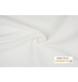 Oeko-Tex®  Waffle Pique Fabric Creme