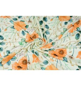 Viscose Jersey Buttercup Peach