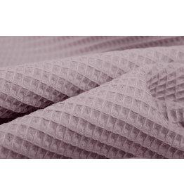 Waffelpiqué Baumwolle Altrosa