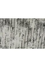 Stripe Fur Foil Beige