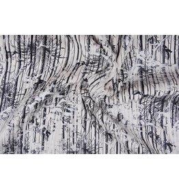 Stripe Fur Foil Creme