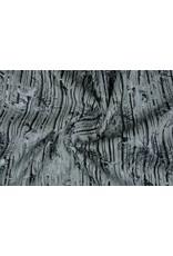 Stripe Fur Foil Grey