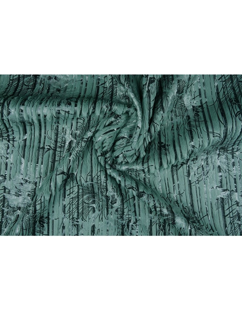 Stripe Fur Foil Old Mint