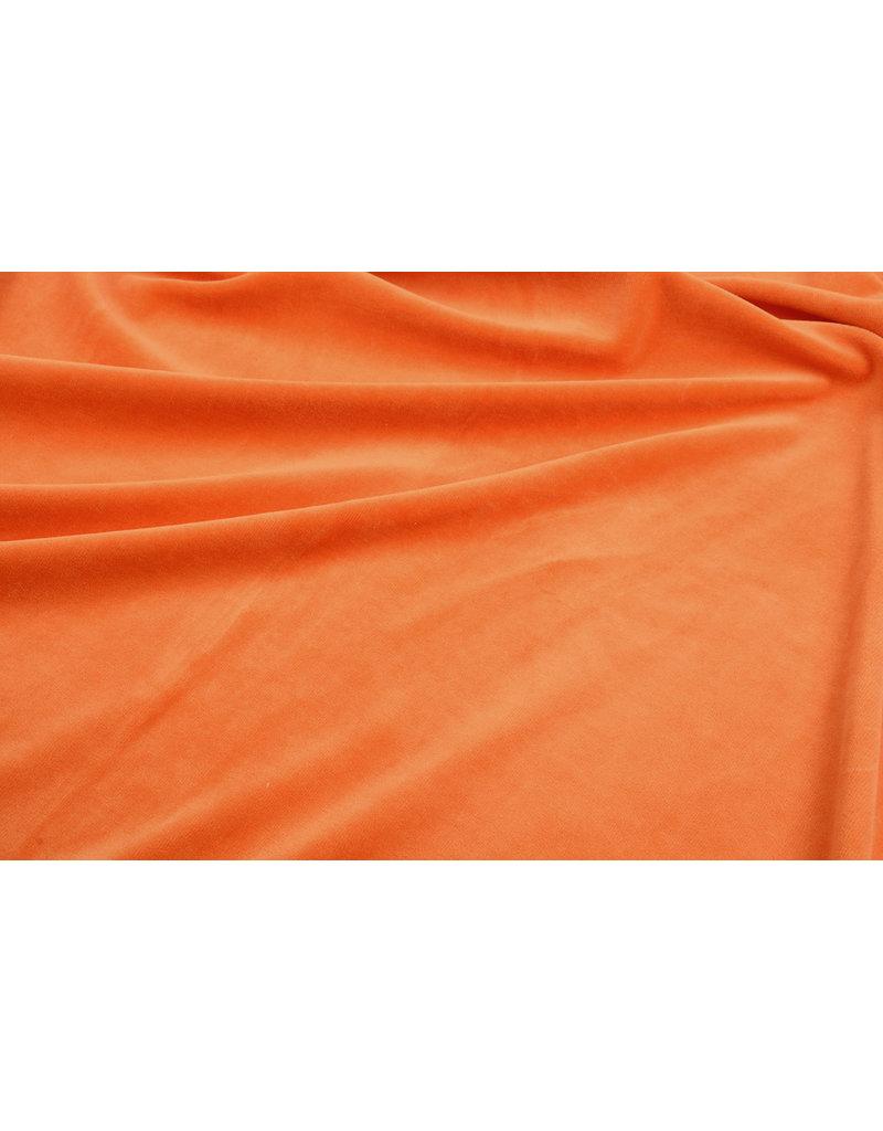 Nicki Samt Orange
