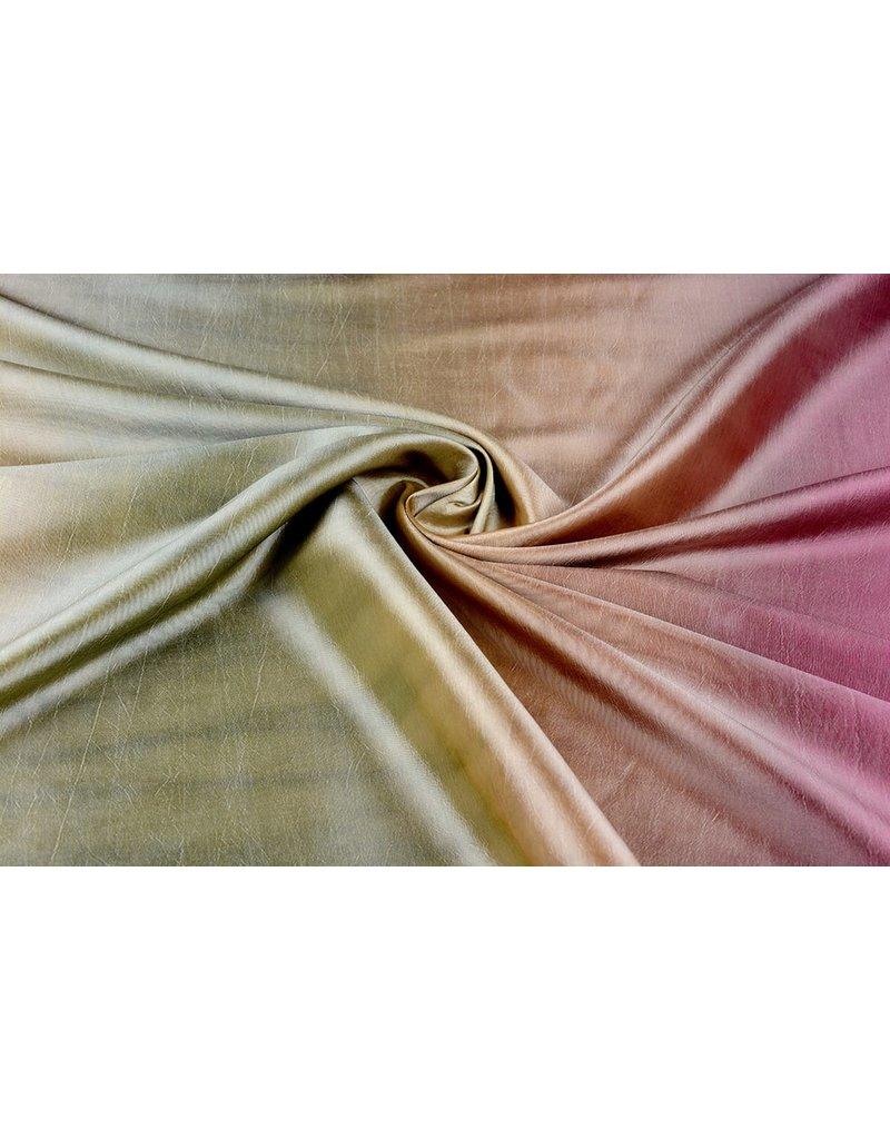 Crinkle Taft Mix Khaki Altrosa