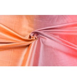 Crinkle Taft Mix Orange Pink