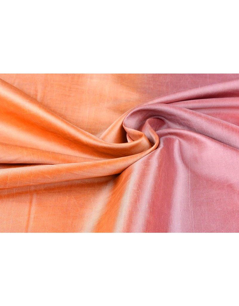 Crinkle Taft Mix Orange Rosa