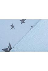 Jogging Alpenfleece Kleine ster Grote ster Blauw Grijs