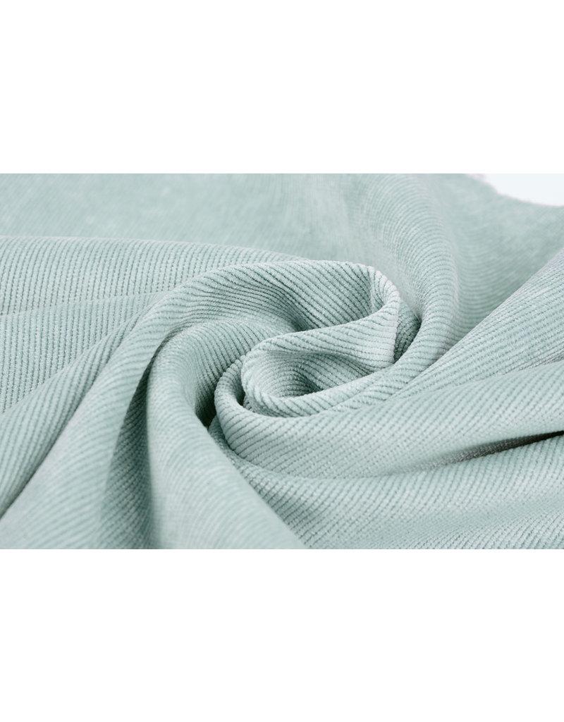 Rib Fabric 16 W Corduroy Light Blue