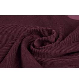 Rib Fabric 16 W Corduroy Light Bordeaux